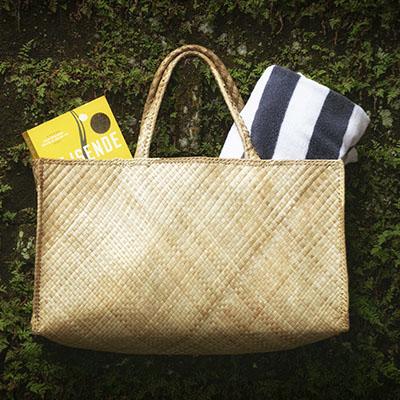 Taske med mønster